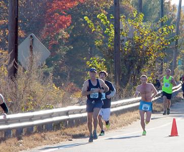 Sean NEU Running Club Baystate Marathon - Lowell 2012