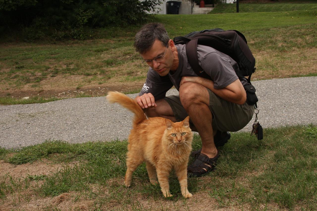 IMG4_30704 Joe and Sampson cat by Ian