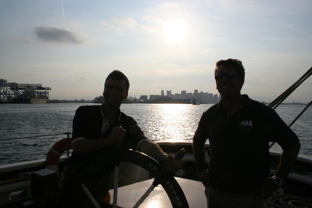 IMG_8324 Joe, Capn Dwight Roseway boat