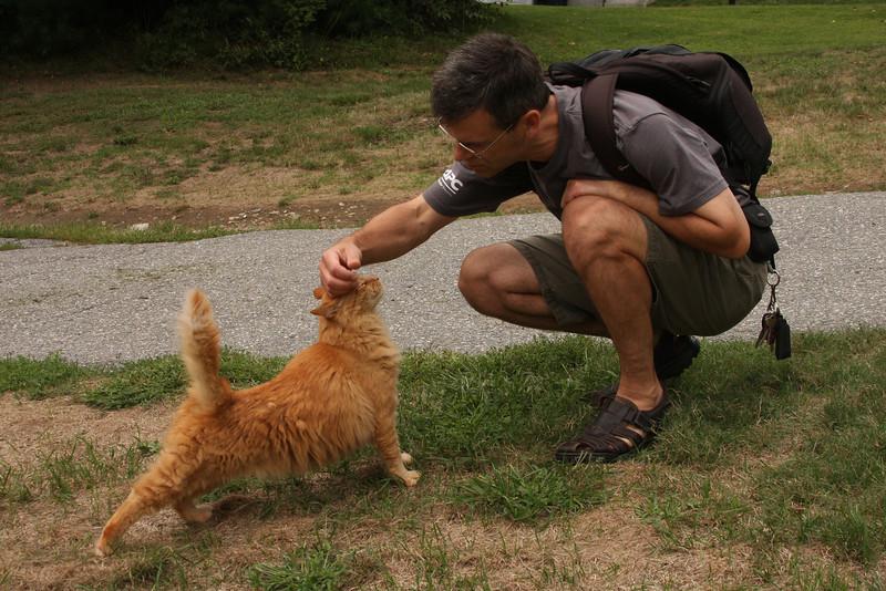 IMG4_30707 Joe and Sampson cat by Ian