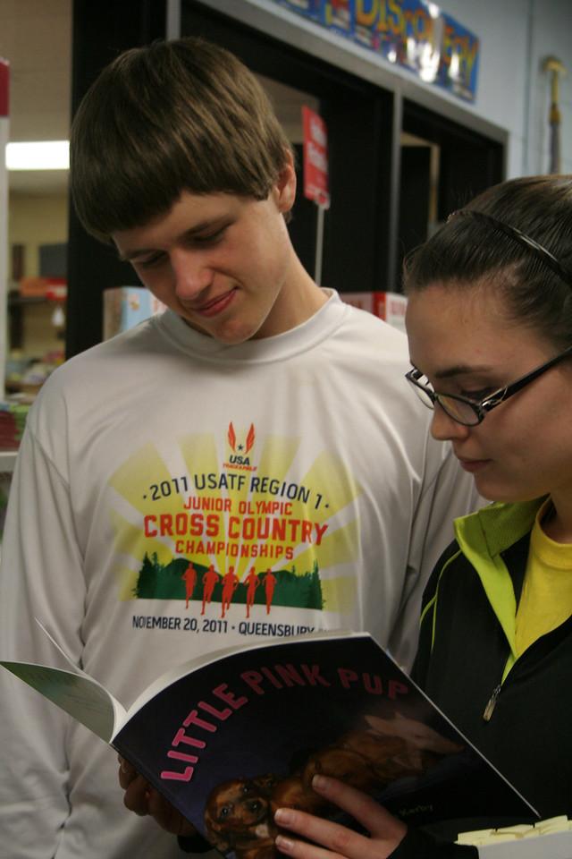 IMG_8135 CJ, Kristin, book fair