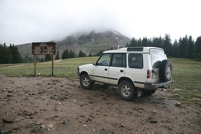 Georgia Pass summit.