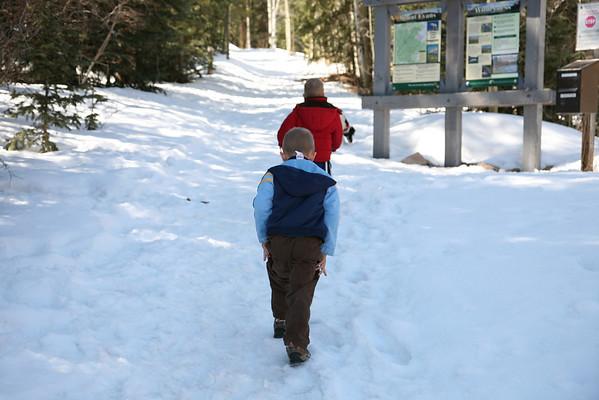 Deer Creek Hiking With Adam and Ben. March.