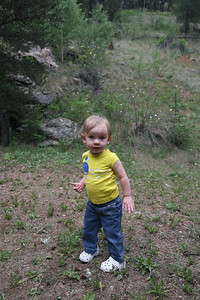 Annelise looking adorable.  From a quick trip up Deer Creek.