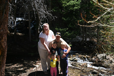 Family photo from a 4wd trip in the Geneva Creek Basin.