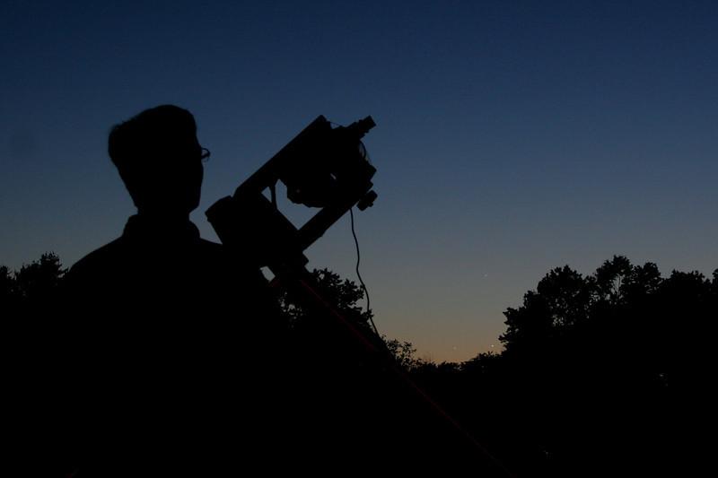 IMG_9508 Joe at telescope Mercury, Jupiter, Venus self portrait trmzb
