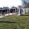 NASA officials at Arlington National Cemetery on Feb 1, 2013 -- 10 years since loss of Columbia and crew.