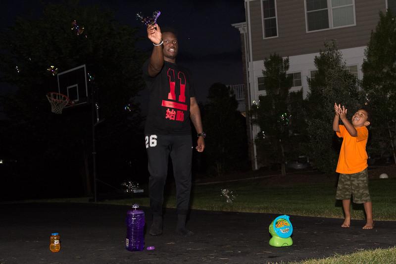 Ballin in the driveway