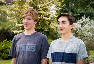 Patrick and Carson before first frosh dance