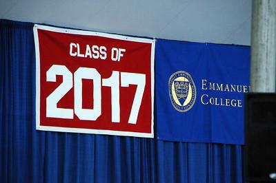Hannah Graduation Emmanuel College 2017