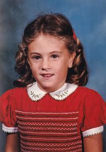 1996-07 Vanessa in Smocked red dress-2