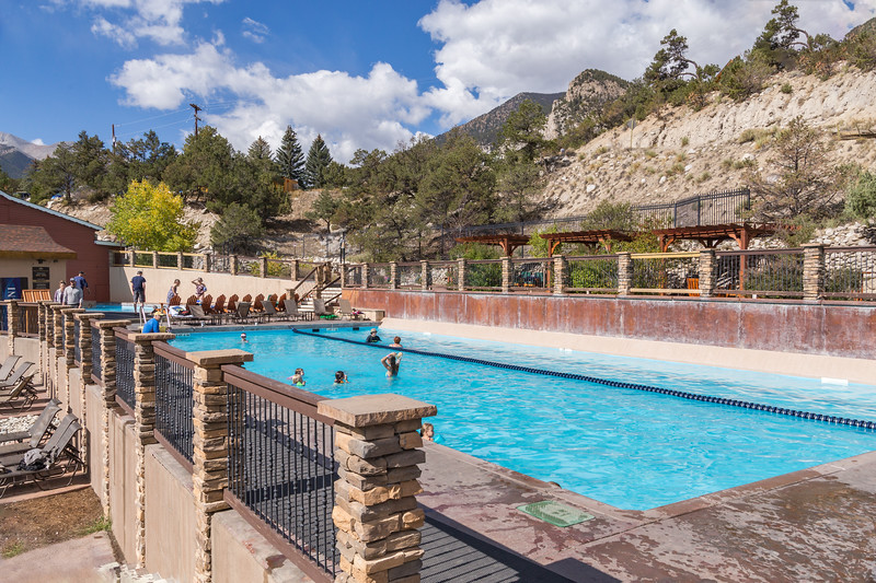 Mt. Princeton Hot Springs Pools