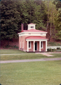 Kay-11: The Apothacary's House, Farmers Museum, Cooperstown. Pattersons lived in here in Hardwick.