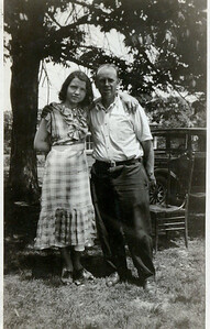 Kay-06: Annie Patterson (nee McKeown) and Uncle Harry, Germanstown, Philadelphia, PA, USA