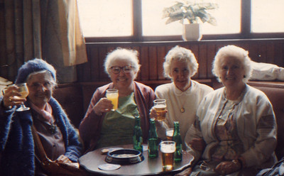 Kay-37: Mary and Annie Patterson (from left, no relation) at The Slieve Donnard Hotel in Newcastle County Down