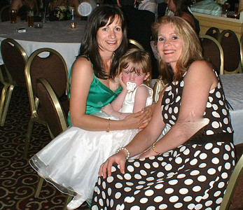 ELG- 05: Lorraine Ware (nee Gorman) with daughter Bree Ware and sister Lorraine Gormanin 2006
