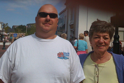 DPB - 259: Robert (Bob) William Patterson with Kay Patterson at Cape May summer 2008