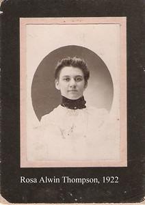 7 - Rosina Alwin  1922