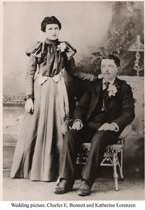 1 - Carrie's parents wedding photo