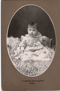 6 - Carrie Bennett as infant