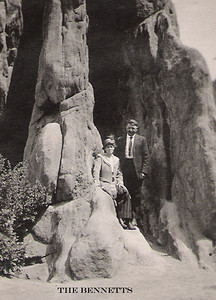 2 - Carrie's parents at Garden of the Gods