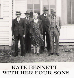 12 - Kate Bennett with her four sons