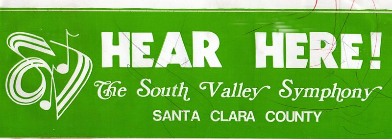 SVS Bumper Sticker