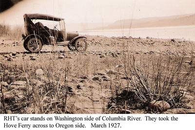 7b - rht car at Columbia River 1927
