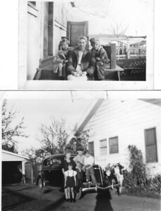 14 - rht family in Sunnyvale during WW2