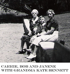 12 - Carrie with Bob, Janene, and her mother, Kate Bennett