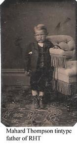 3 - Mahard Thompson as child