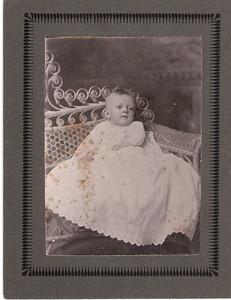 5 - Robert Harold Thompson as baby