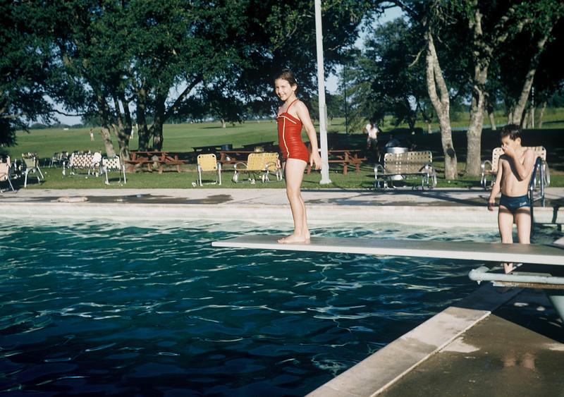 Tennwood, 1957. Kathy & Milton.
