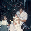 Christmas 1958. Judy, Kurt, Shirley