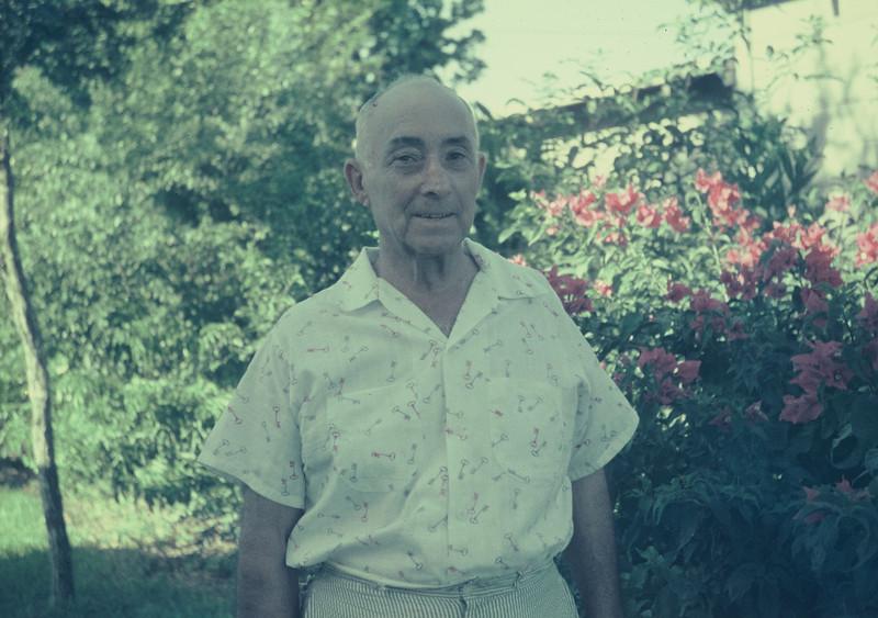 Joe Bodin. Harlingen, August 1956.