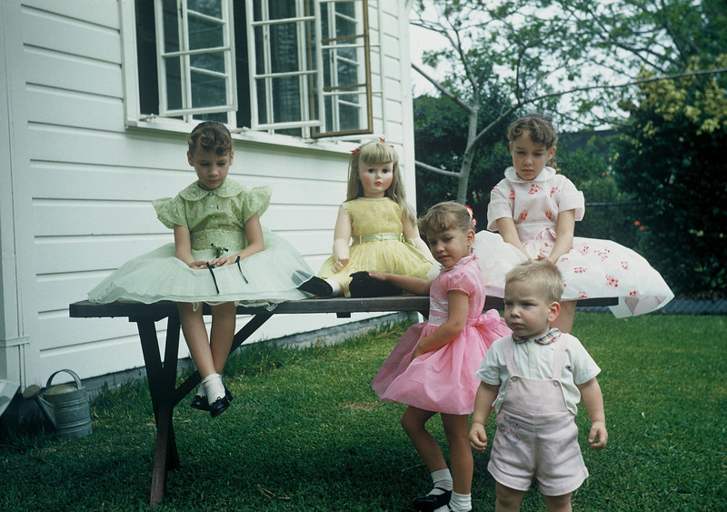 Easter 1960. The Whiteman's.
