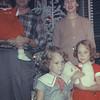 Christmas 1956. Dave & Shirley Whiteman, with Judy, Diane, & Elaine