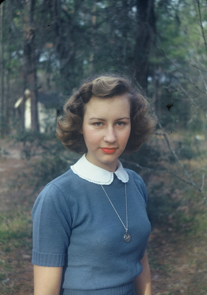 Shirley, January 1949.