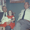 Christmas 1956. Sam Tigner, Elaine, Joe Bodin