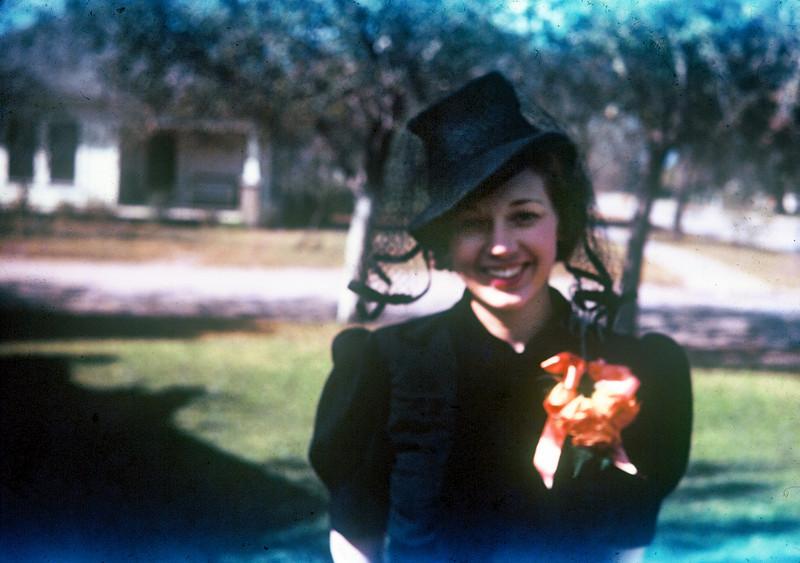 Kay Bodin. Herman & Gertrude's wedding, Kingsville, 1939