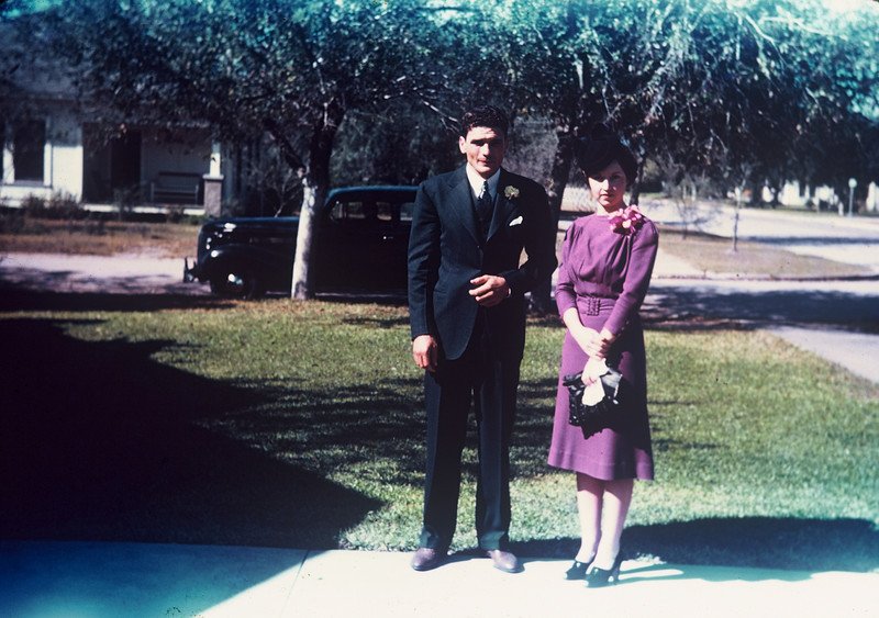 Herman & Gertrude's wedding, Kingsville, 1939