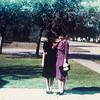 Kay Bodin & Gertrude. Herman & Gertrude's wedding, Kingsville, 1939