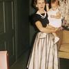 June 1957. Shirley & Judy.