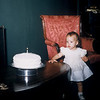 May 1957, Judy Whiteman's 1st birthday.