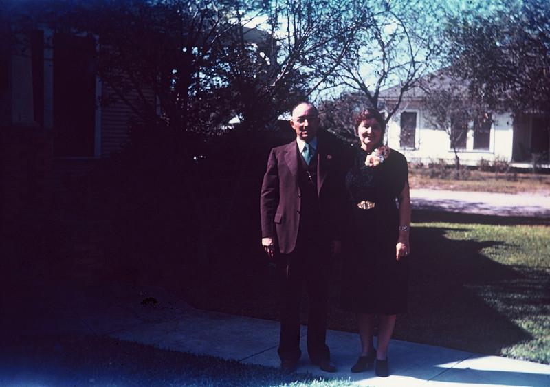 Joe & Pearl Bodin. Herman & Gertrude's wedding, Kingsville, 1939