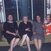 Christmas 1958. Virginia, Lula, Pearl, Elaine