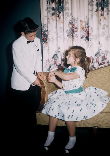 May 12, 1957. Kathy's 8th birthday.