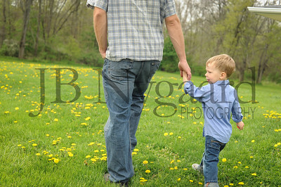 5-04-15 Benji Bergstrand with son Silas-2