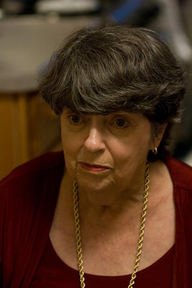 My aunt Sheila.