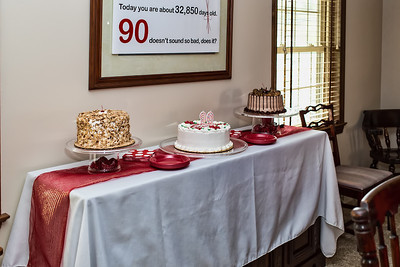 Grandma's 90th Birthday Party